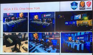 Die neuen MSI-Monitore in Shenzhen