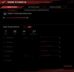ASUS ROG GR8 II Softwareausstattung