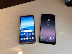 Huawei Mate 10 Pro und Samsung Galaxy Note 8