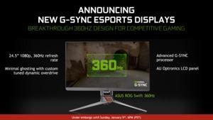 ASUS ROG Swift 360 mit 360 Hz