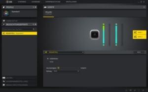 Die Steuerung der Beleuchtung des Vengeance RGB Pro kann entweder über Corsairs iCUE-Software oder über MSI- und Gigabyte-Software erfolgen