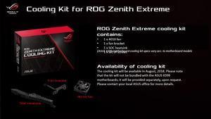 Kühlungs-Update für das ASUS ROG Zenith Extreme