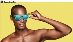 Mit den Spectacles-Sonnenbrillen können kurze Videos aufgenommen werden.