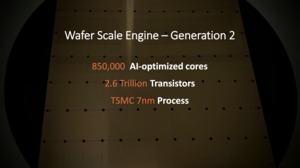 Cerebras Wafer Scale Engine der zweiten Generation