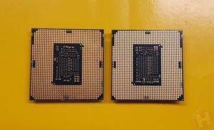 Intel Celeron G3930 und Core i7-8700K
