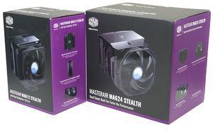 Cooler Master MasterAir MA612 Stealth und MasterAir MA624 Stealth