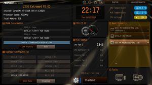 Der UEFI-EZ-Mode beim ASRock Z270 Extreme4.