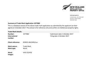 HTC Vive Eclipse: Markenrechte gesichert