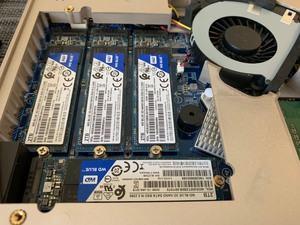 WD Blue-SSDs im QNAP-NAS