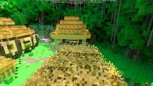 Minecraft RTX DLSS On