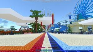 Minecraft RTX On 24 Chunks