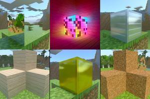 Minecraft RTX PBR-Texturen