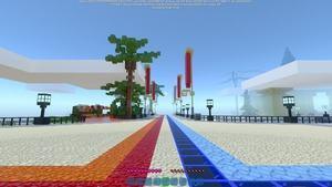 Minecraft RTX On 8 Chunks