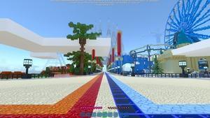 Minecraft RTX On 20 Chunks