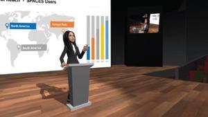Spaces VR-Videokonferenz