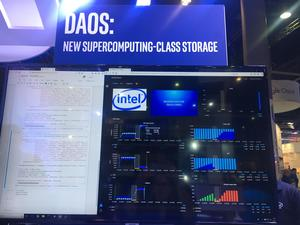 Distributed Asynchronous Object Storage (DAOS)