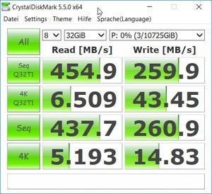 ST12000NE0007 im RAID1 (DS1517+ via 10GBase)