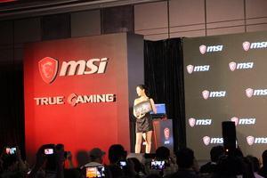 MSI-Pressekonferenz zur Computex 2017