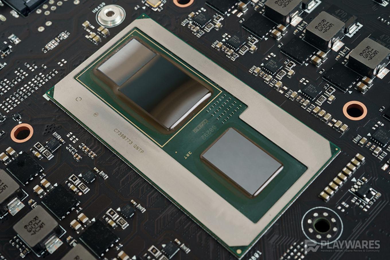 Test des Intel NUC8i7HVK durch Playwares