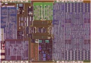 Die-Shot zum Compute-Layer des Lakefield-Prozessors