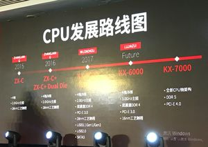 Zhaoxin Roadmap zu eigenen Prozessoren