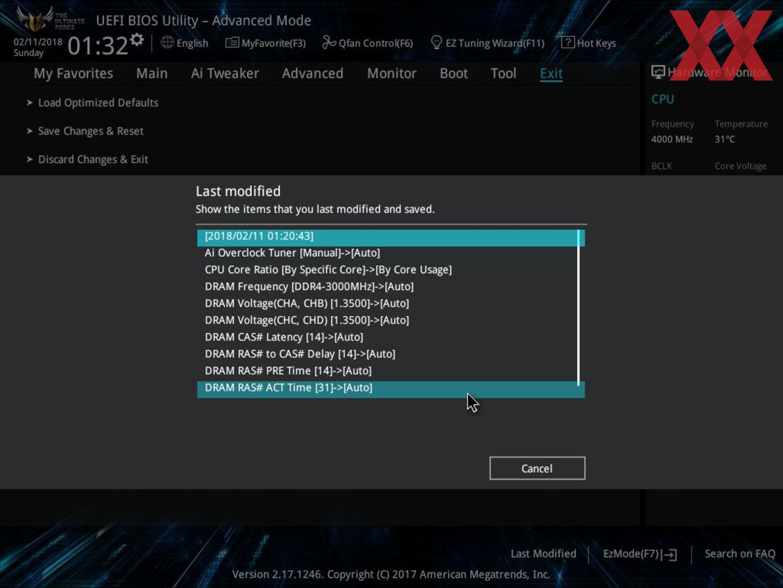 ASUS TUF X299 Mark 1 im Test - Hardwareluxx