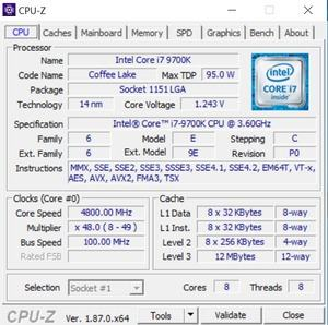 CPUz und GPUz des Velocity R2