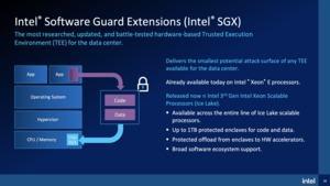 Intel Ice Lake-SP mit SGX