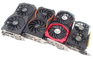 Vier Modelle der NVIDIA GeForce GTX 1050 Ti im Test