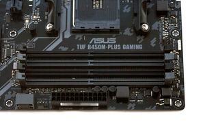 Bis zu 64 GB RAM können verbaut werden. Die unterstützte Geschwindigkeit geht bis 3.200 MHz.