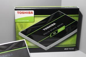 Die Toshiba OCZ TR200 auf der Gamescom 2017