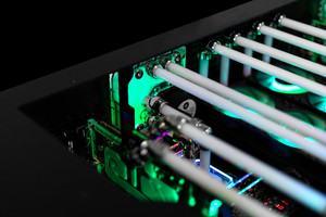 EK-Quantum Reflection Uni 140 D5 PWM D-RGB und EK-Quantum Reflection DK-O5F D-RGB