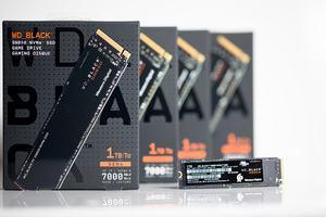 Western Digital WD_Black SN850 on ASUS Hyper M.2 X16 Gen4 Card
