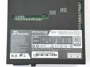 Seasonic PRIME Titanium Fanless 600W