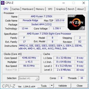 AMD Ryzen 7 2700X