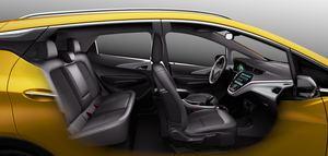 Der Opel Ampera-e soll ausreichend Platz für fünf Personen und Gepäck bieten