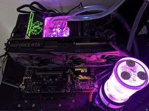 RGB-LED-Beleuchtung mit dem MSI MPG Z590 CARBON EK X.