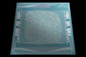 Chip mit Kohlenstoffnanoröhren