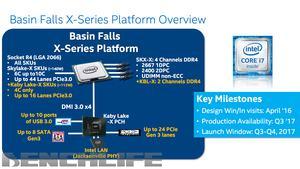 Benchlife-Leak zu Basin Falls –Intel Skylake-X und Kaby-Lake-X
