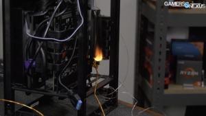 NZXT H1 - Kurzschluss am PCIe-Riser