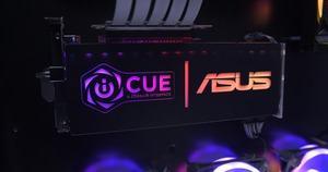 Corsair iCUE mit Unterstützung für ASUS Aura Sync-Mainboards