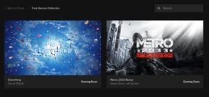 Epic Games Store Metro: 2033 Redux