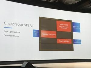 Der neue DSP Hexagon 685 soll eine um 300 % höhere KI-Leistung bieten