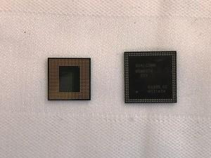 Qualcomm Snapdragon 845 (links) und Snapdragon 800 im Größenvergleich