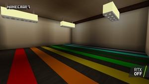 Minecraft RTX Color Shadow RTX Off