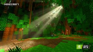 Minecraft RTX Temples Totems RTX On