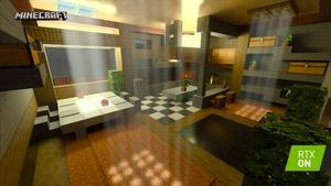 Minecraft RTX Color Shadow RTX On