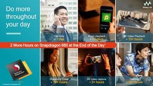 Der Snapdragon 660 soll effizienter als sein Vorgänger arbeiten, Details nennt Qualcomm aber nicht