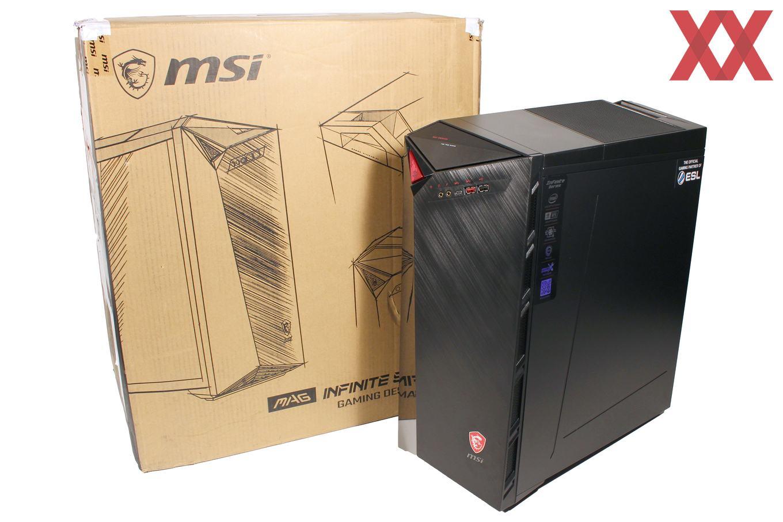 Der MSI MEG Infinite X 10SE-660 im Test