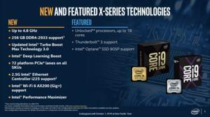 Intel Core-X-Serie auf Basis von Cascade Lake-X